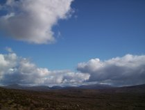 The wilderness behind Ben More Assynt