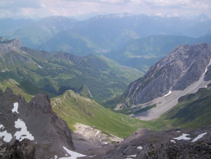 View from the summit of Pic d'Anie