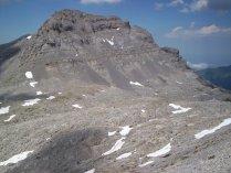 Pic du Soum Couy above Lescun