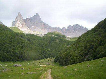 The Aiguille d'Ansabere