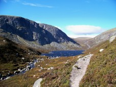 Dubh Loch, in the Mounth, above Loch Muick