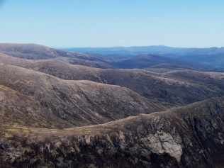 View from Cairn Toul