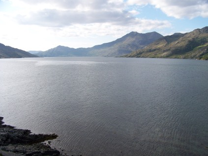 Loch Hourn from Barrisdale
