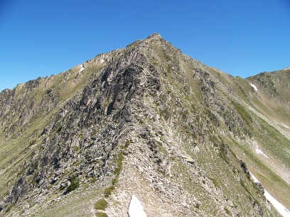 Summit ridge on Tuc de Marimanha