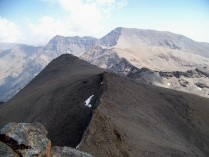 Mulhacen from the summit of Veleta