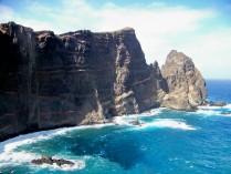 The cliffs of the Ponta S??o Louren??o, Madeira