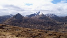 The Mamores between squalls
