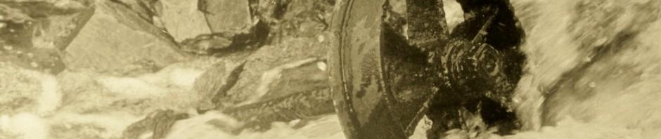 Wythburn Mine wagon wheel