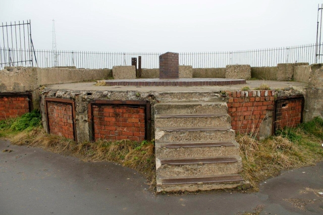 Wartime gun emplacement