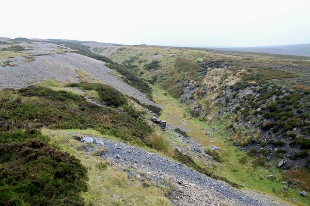 North Rake Hush – Carved by men and lots of water