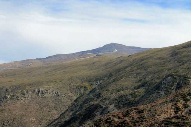Veleta. Don't climb it from it's southern side. Trust me