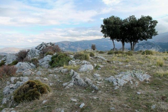 The summit of Cerro de las Minas
