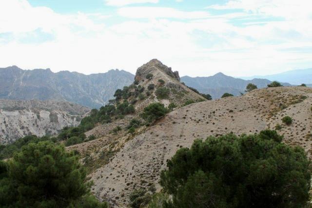 The summit of Pico de la Carne