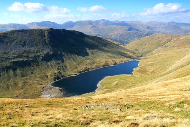 Looking down onto Hayeswater