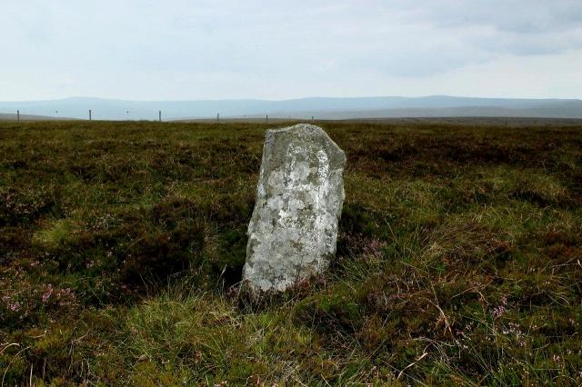 Old boundary stone