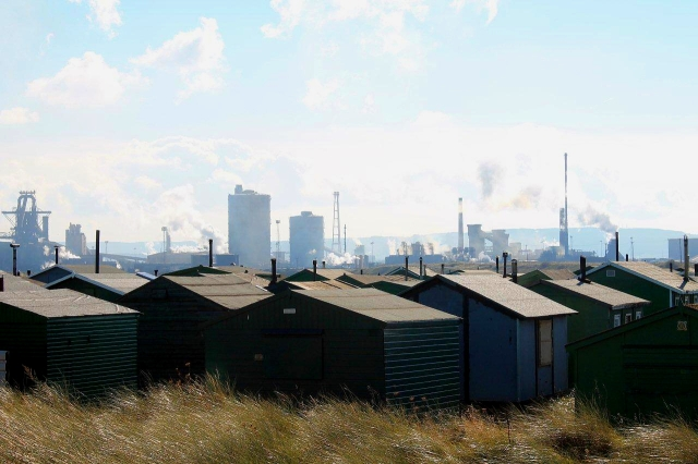 The last time I wrote about the South Gare fishermen's huts someone commented that they were originally built as an army camp during the Second World War