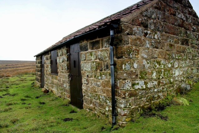 Shooters' bothy. Locked against vagabonds and robbers