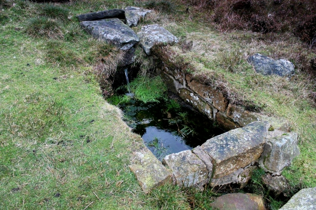Bothy water supply. Or perhaps it's where they wash their wellies.