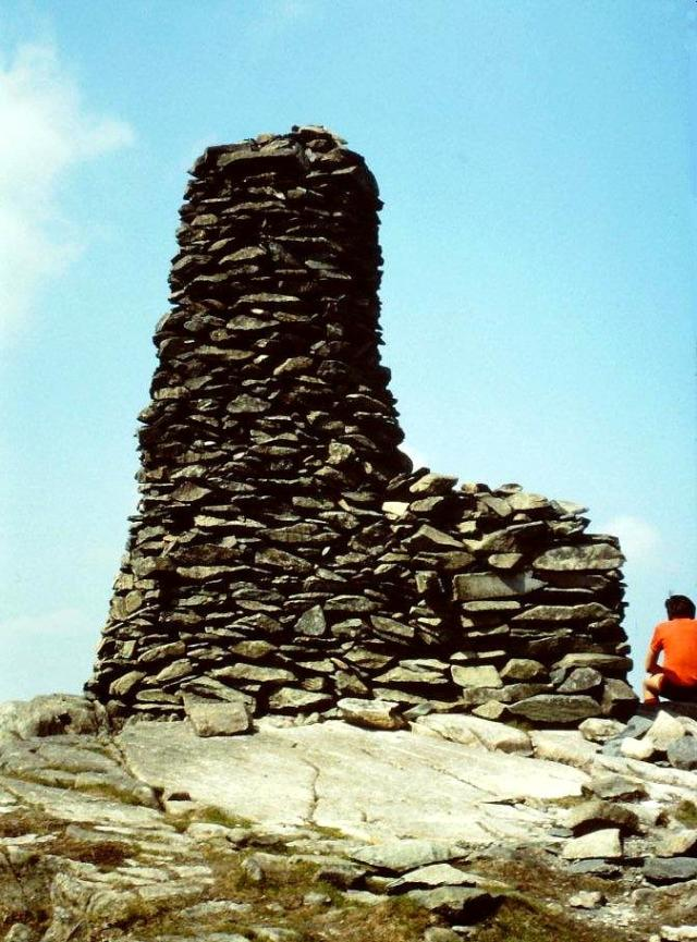 The beacon on Thornthwaite Crag