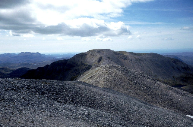 Conival from Ben More Assynt