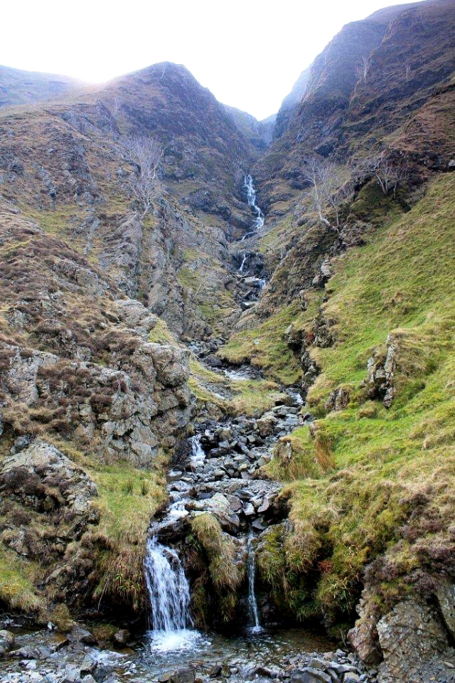 Little UlGill Beck tumbles down Black Force to join Carlingill Beck in Carlin Gill