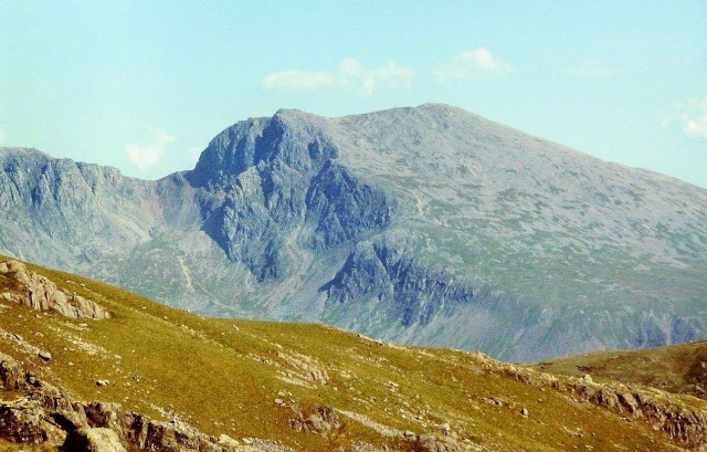 Click . . . the mighty Scafell, second-highest mountain in England
