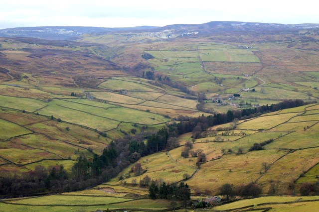 Arkengarthdale from Fremington Edge
