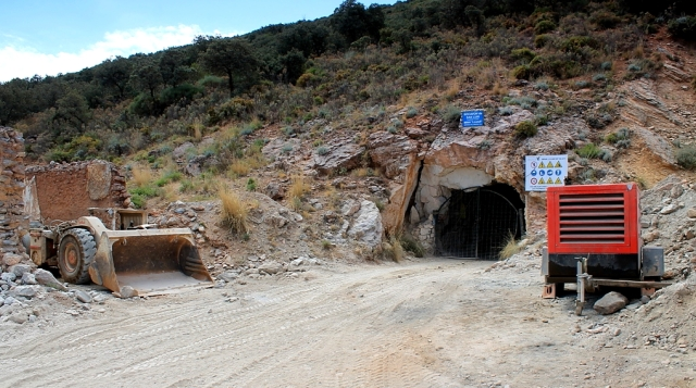 Socavon de San Luis is one of the main levels of the mine