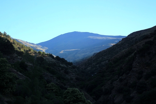 Sierra de Lújar catches the morning sunshine